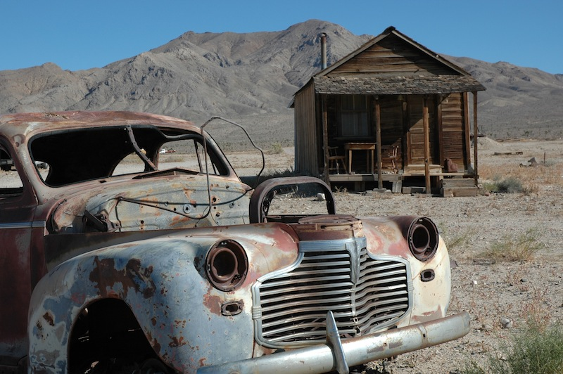 Gold Point, Nevada, Abandoned Town
