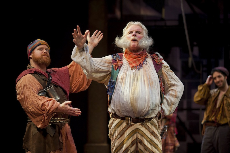Michael F. Toomey and Malcolm Ingram in the 2014 production of Henry IV parts I and II — photo by Kevin Sprague