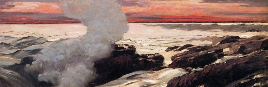 Winslow Homer's masterpiece, West Point, Prout's Neck