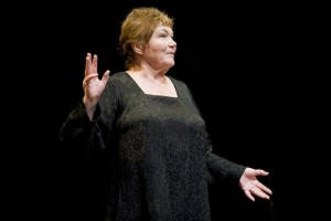 "Tina Packer in a 2010 production of ""Women of Will"" photo by Kevin Sprague"