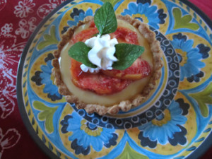Italian Fruit Tart recipe, from Tinky Weisblat