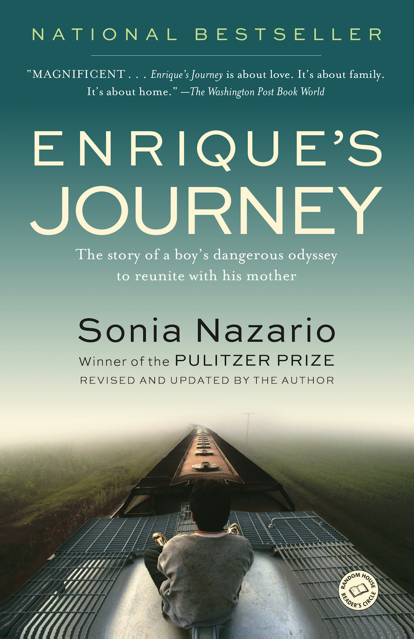 the theme of immigration in enriques journey a book by sonia nazario