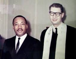 Reverend Dr. Martin Luther King Jr. King and Rabbi Israel Dresner (submitted photo)