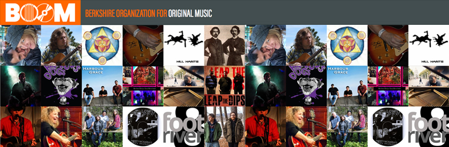 BOOM is dedicated to increasing the viability and visibility of original music in the Berkshires.
