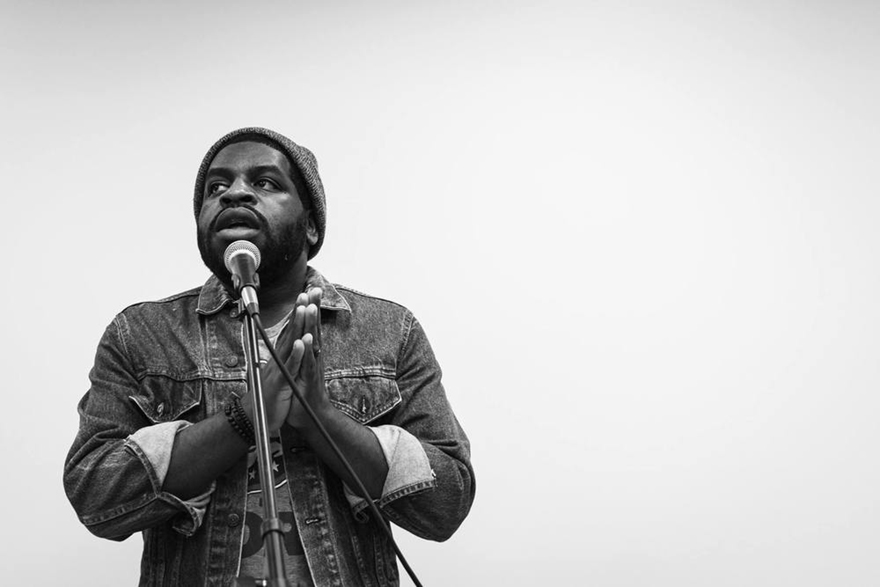 Hanif Willis-Abdurraqib will lead workshops and host events over the course of the festival weekend (photo courtesy WordXWord).