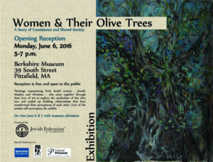 Olive tree Exhibit Poster