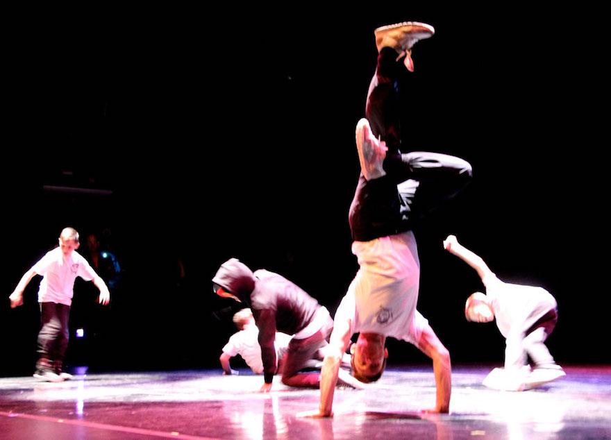 "Members of the Funk Box Dance Studio, performing in the 2015 installment of ""Made in the Berkshires"" (photo, Susan Geller)"