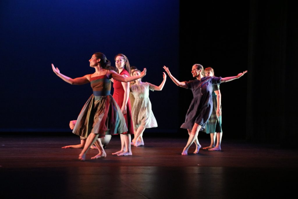 """Berkshire Pulse will perform """"A Waltz with the Woman in the Milk House,"""" choreographed by Bettina Montano (photo, Susan Geller)."""