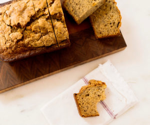 Brown Butter-Cardamom Banana Bread (photo courtesty CPK Media, LLC)