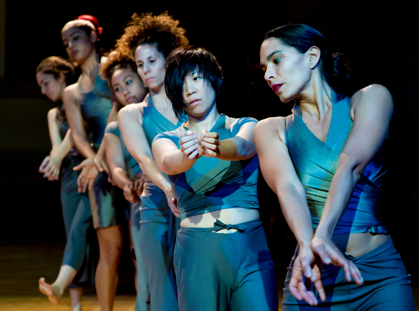 "Boston-based Danza Orgánica, a Boston-based Contemporary Dance Theater Company directed by choreographer Marsha Parrilla, will stage a free performance based on their project, ""Running in Stillness,"" on February 24 at the Boys and Girls Club; photo courtesy Jacob's Pillow."
