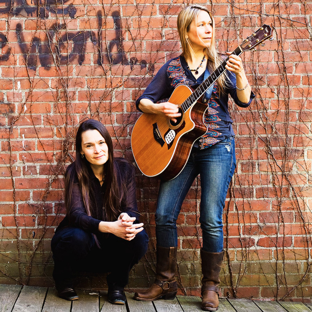 The Nields will be on hand at the first ever Arcadia Folk Festival on September 30, 2018; photo courtesy nields.com.