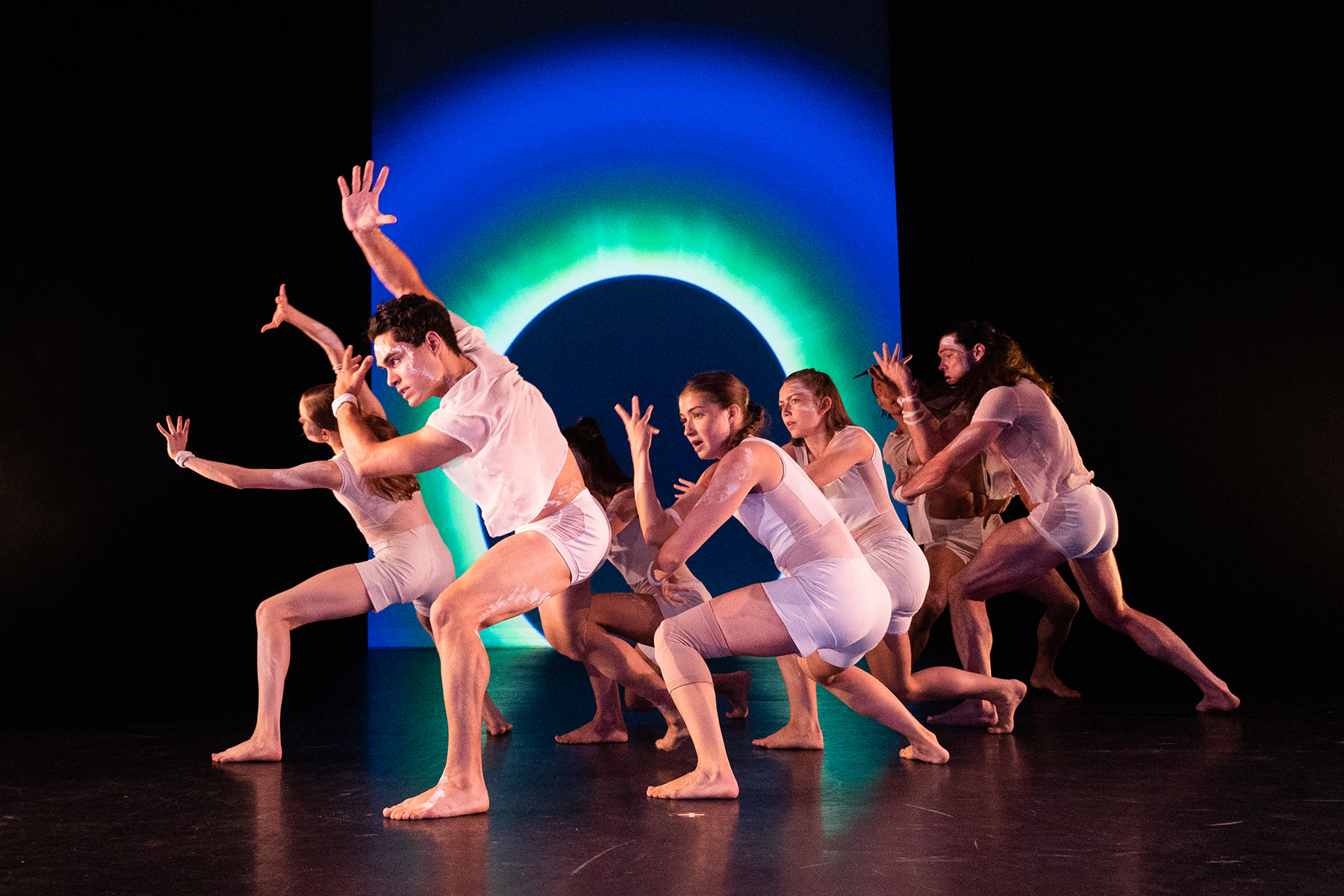 "Red Sky Performance in ""Trace"" at Jacob's Pillow; photo Hayim Heron."