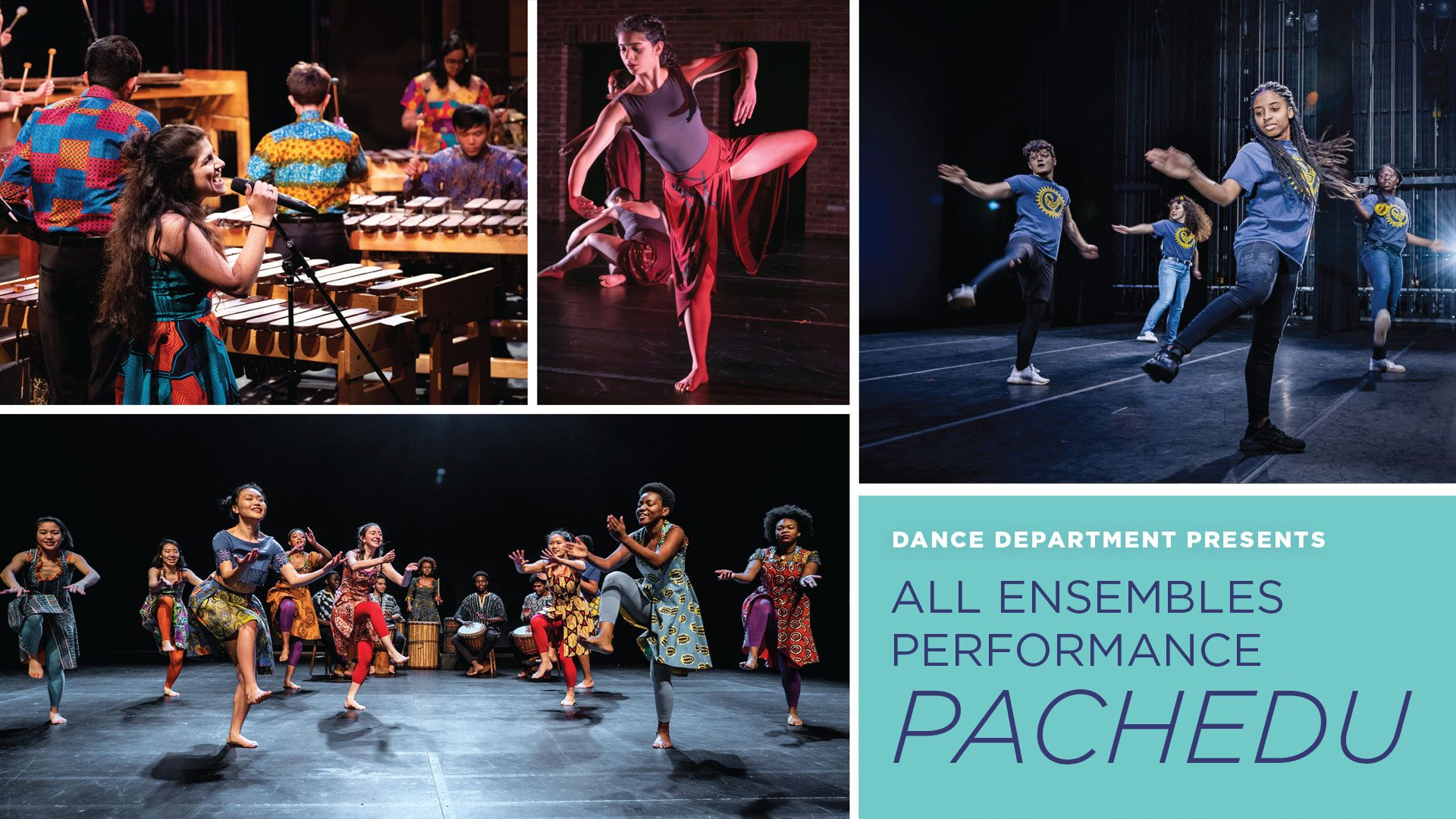 Pachedu, presented by the Williams College Department of Dance November 22–23